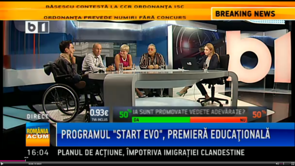 Despre StartEvo -la B1TV - poza 2